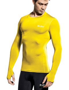 COMPRESSION JERSEY L/S YELLOW