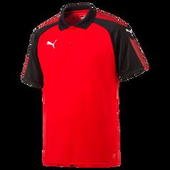 ASCENSION POLO RED/BLACK