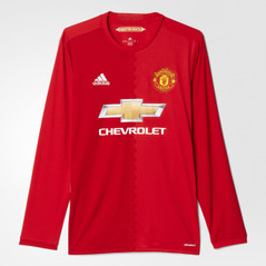 MANCHESTER UNITED HOME JERSEY L/S 16/17