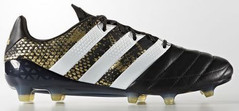 ACE 16.1 LEATHER BLACK/GOLD