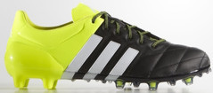 ACE 15.1 LEATHER BLACK/WHITE/YELLOW