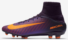 MERCURIAL VELOCE III DF FG PURPLE/ORANGE