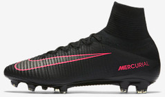 MERCURIAL SUPERFLY V FG BLACK/PINK