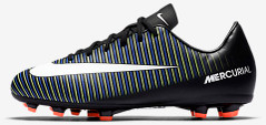 JR MERCURIAL VICTORY XI FG GREEN/BLUE/BLACK