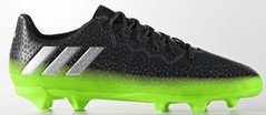 MESSI 16.3 FG J GREY/SILVER/GREEN