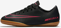 JR MERCURIALX VICTORY XI IC BLACK/PINK