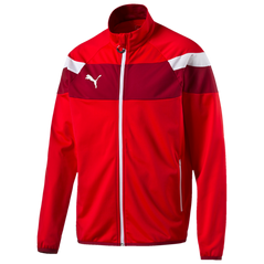 SPIRIT II TRACK JACKET RED/PEPER/WHITE