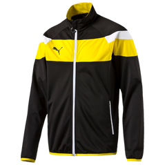 SPIRIT II TRACK JACKET BLACK/YELLOW [FROM: $42.00]
