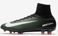 MERCURIAL VELOCE III DF FG BLACK/GREEN/BLUE