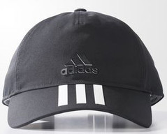 ADIDAS CLIMATE 6 PANEL CAP BLACK/WHITE