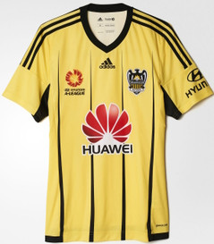 WELLINGTON PHOENIX HOME JERSEY 16/17