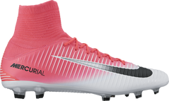 MERCURIAL VELOCE III DF FG WHITE/PINK