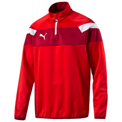 SPIRIT II 1/4 ZIP JACKET RED/WHITE [FROM: $42.00]