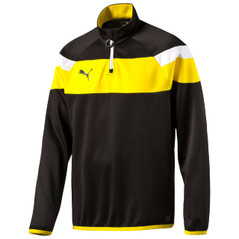 SPIRIT II 1/4 ZIP JACKET BLACK/YELLOW [FROM: $42.00]