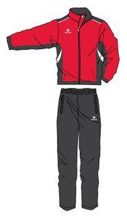 Condor Tracksuit - Red/Black/White