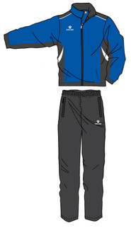 Condor Tracksuit - Royal/Black/White