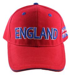 England Cap Red