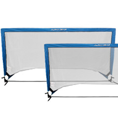 ALPHA Gear Square 2x1 Meter Pop Up Goals - 2 in one carry bag