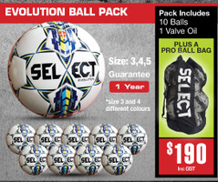 EVOLUTION BALL PACKS