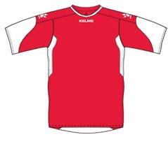 Cadiz Jersey Red/White