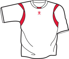 Reyes Jersey White/Red [FROM: $17.50]