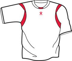 Reyes Jersey White/Red