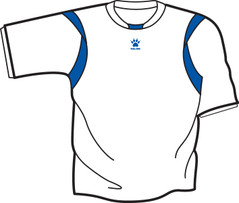 Reyes Jersey White/Royal [FROM: $17.50]
