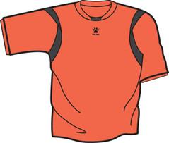 Reyes Jersey Orange/Black