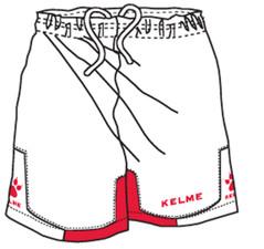 Cadiz Short White/Red [FROM: $21.00]