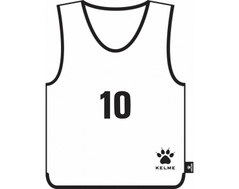 Aires Bib Set Numbered 1-16 White