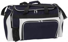 Super Classic Sports Bag Navy/White