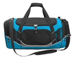 Atlantis Sports Bag Black/Aqua/White/Charcoal