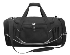Atlantis Sports Bag Black/White/Charcoal