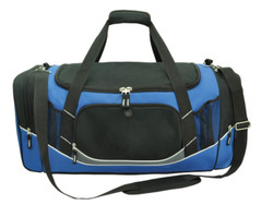 Atlantis Sports Bag Black/Royal/White/Charcoal