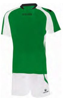 Saba Set emerald/white