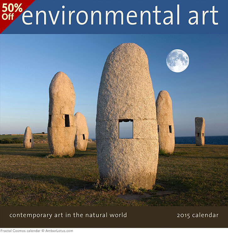 Environmental Art 2015 wall calendar