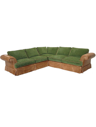 5916 Rexford Padded Arm Sectional