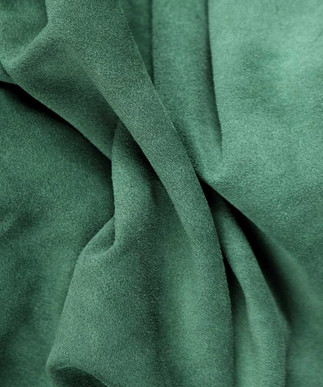 Calf Suede Forest Green