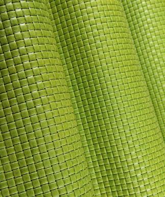 Basket Weave Lime