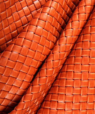 Basket Weave Orange