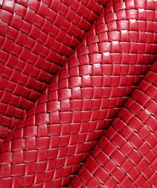 Basket Weave Red