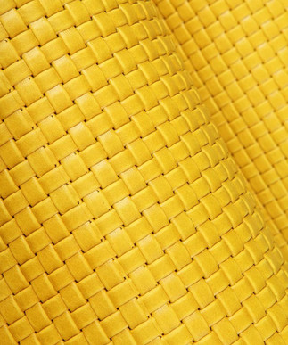 Basket Weave Yellow