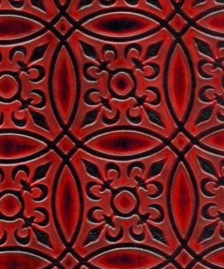 Circle Tile Red