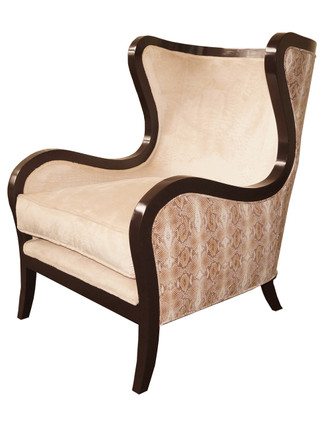 W9096 Maroon Creek Wingback Chair