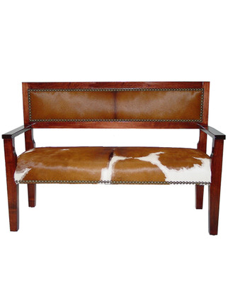 5417 Wood Bench with Arms