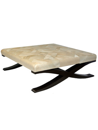 5235 Coffee Table with X Base