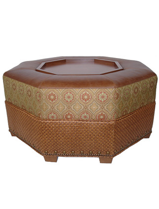5335 Octagonal Coffee Table with Storage