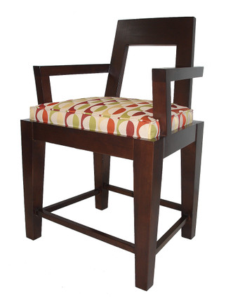 S5642 Mondrian Barstool with Arms