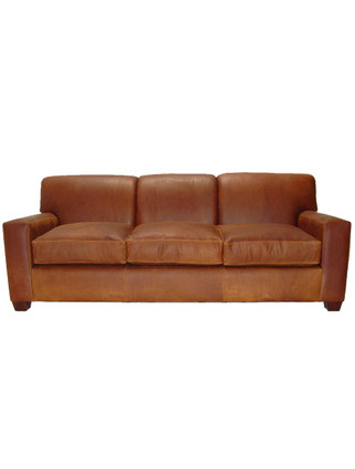 5858 Tight-back Cubist Sofa (3 Cushion)