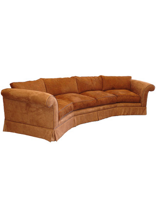 5932 Giant Curved Sofa